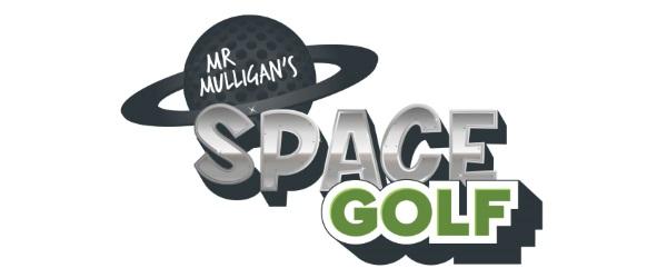 Mr Mulligan's Space Golf logo