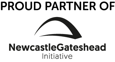 Proud Partner Logo Newcastlegateshead Initiative