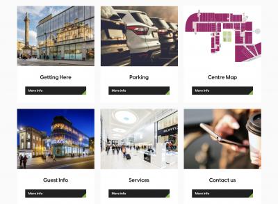 Eldon Square new website